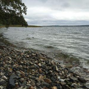 Portowest strand i Mjösund.