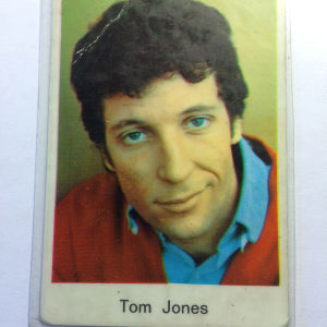 Tom Jones -keräilykortti
