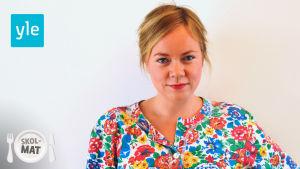 En porträttbild av Johanna Dikert