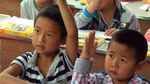 Elever i en kinesisk skola.