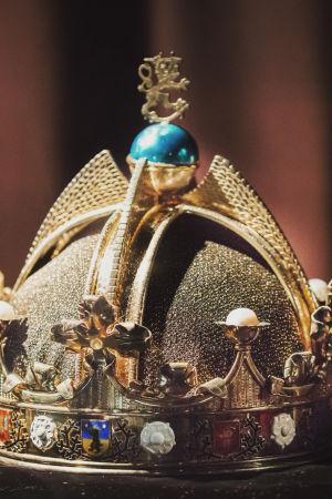 Finlands kungs krona.