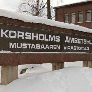 Korsholms ämbetshus i Smedsby.