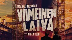 Affisch för musikalen Viimeinen laiva.