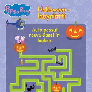 Pipsa Possu Halloween puuha - labyrintti.