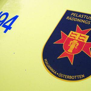 Räddningsverket i Österbotten.