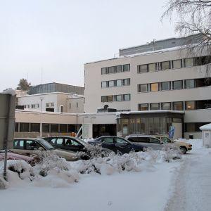 Malmska sjukhuset i  Jakobstad.