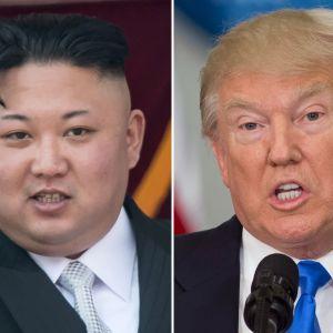 Kim Jong-Un och Donald Trump