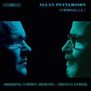 Pettersson 5. ja 7. sinfonia kansi