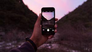 Bild med smarttelefon