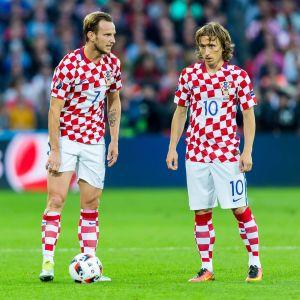 Ivan Rakitiv och Luka Modric gästar Tammerfors.