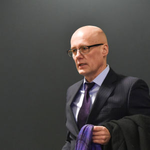 Bluffläkaren Esa Laiho i tingsrätten den 29 februari 2016.
