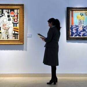 ysl:s tavlor på auktion