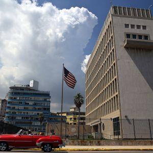 USA:s ambassad i Havanna, Kuba 16.6.2017.