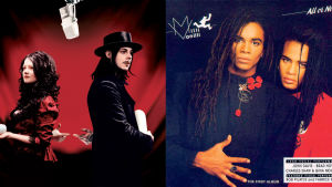 The White Stripes (2005) ja Milli Vanilli (1988).