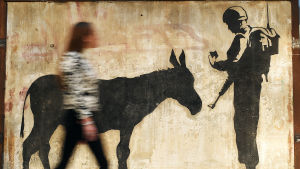 Banksys konstverk
