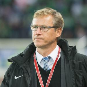 Markku Kanerva, landslagstränare, hösten 2015.
