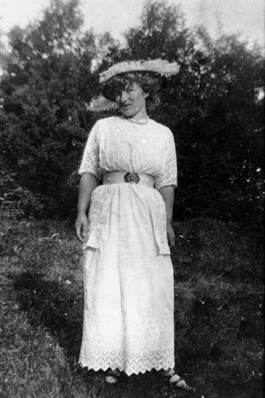 Edith Södergran, foto av Helena Södergran.