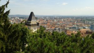 Vy av Graz