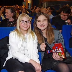 Från vänster Aarno Rämö, Lilja Lehto och Aava Merikanto.