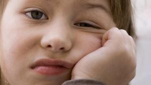 Tylsistynyt lapsi