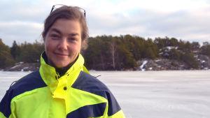 Forskningskoordinator Joanna Norkko.