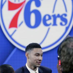 Ben Simmons är ett basketlöfte från Australien.