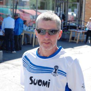 Bengt Nordgren på Tomatkarnevalen