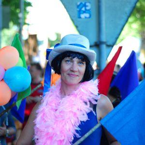 Viveka Karlsson på Åland Pride