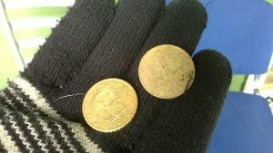 Kolikkolöytönä myös Uruguayn peso