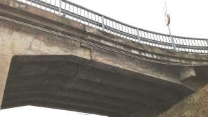 Bron över Karis järnvägsstation.