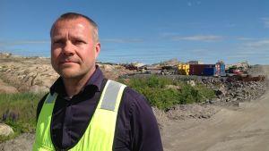 Vesa Heikkonen, vd för Östra Nylands Avfallscentral