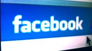 Bild på Facebook logotypen från webbsidan