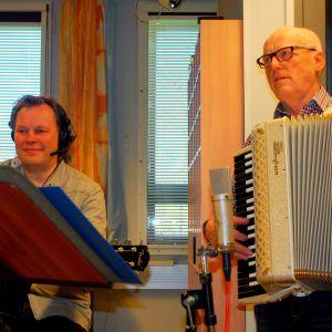 Jan Jacobson och Stig Snickars