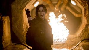 Jennifer Lawrence i Hunger Games: Mockingjay del 2