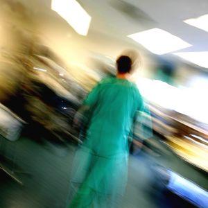 sjukhus, kaos