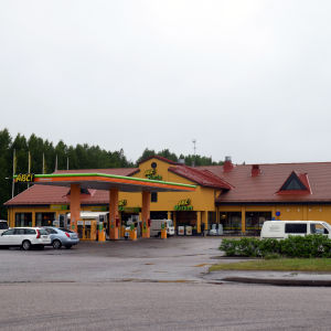 ABC bensinstation i Karis.