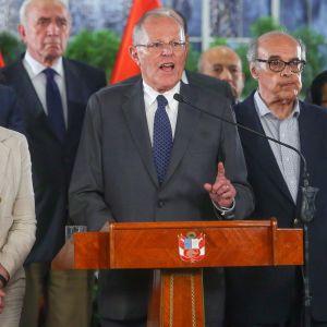 Perus kongress har inlett processen för att avsätta den mutmisstänkte presidenten Pedro Pablo Kuczynski som än så länge har vägrat att avgå