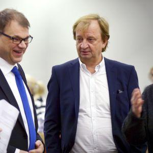 Juha Sipilä och Harry Harkimo