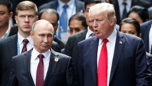 Vladimir Putin och Donald Trump