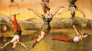 Sirkusjuliste 1800-luvulta