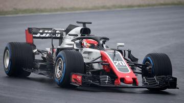 Kevin Magnussen i Haas