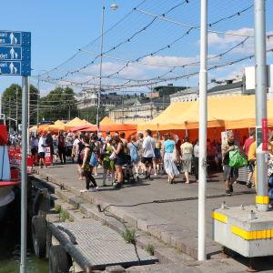 Salutorget i Helsingfors.