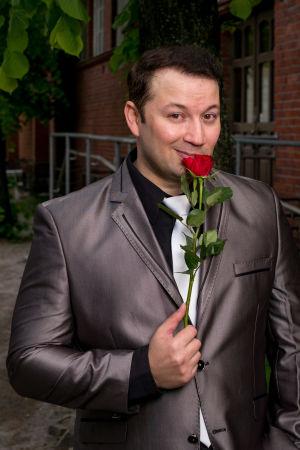 Marco Lundberg Tangomarkkinat 2016 -kilpailija.