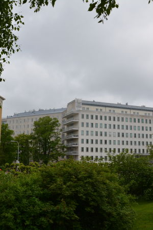 A-sjukhuset vid Åbo universitetscentralsjukhus.