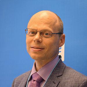 Georg Henrik Wrede, direktör vid Undervisnings- och kulturministeriet