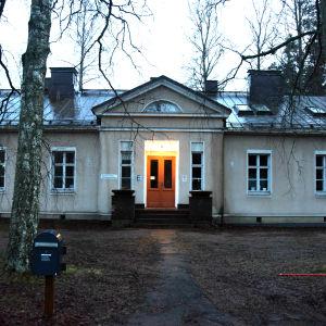 Byggnad på Ekåsens område.