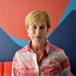 Helena Ewalds, uvecklings- och enhetschef vid THL.s skyddshemstjänster.