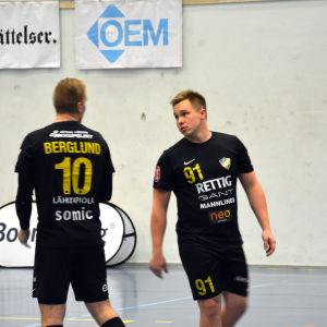 Andreas Nyström och Oscar Berglund, ÅIFK-PIF, 26.10.2016