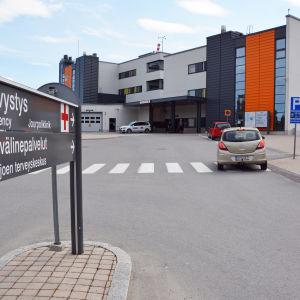 Akutmottagningen vid Seinäjoki centralsjukhus.