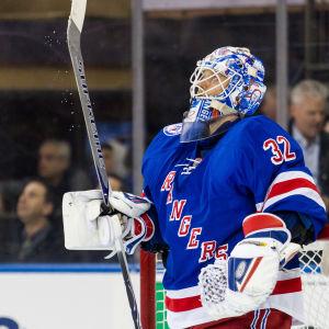 Antti Raanta lämnar New York Rangers.